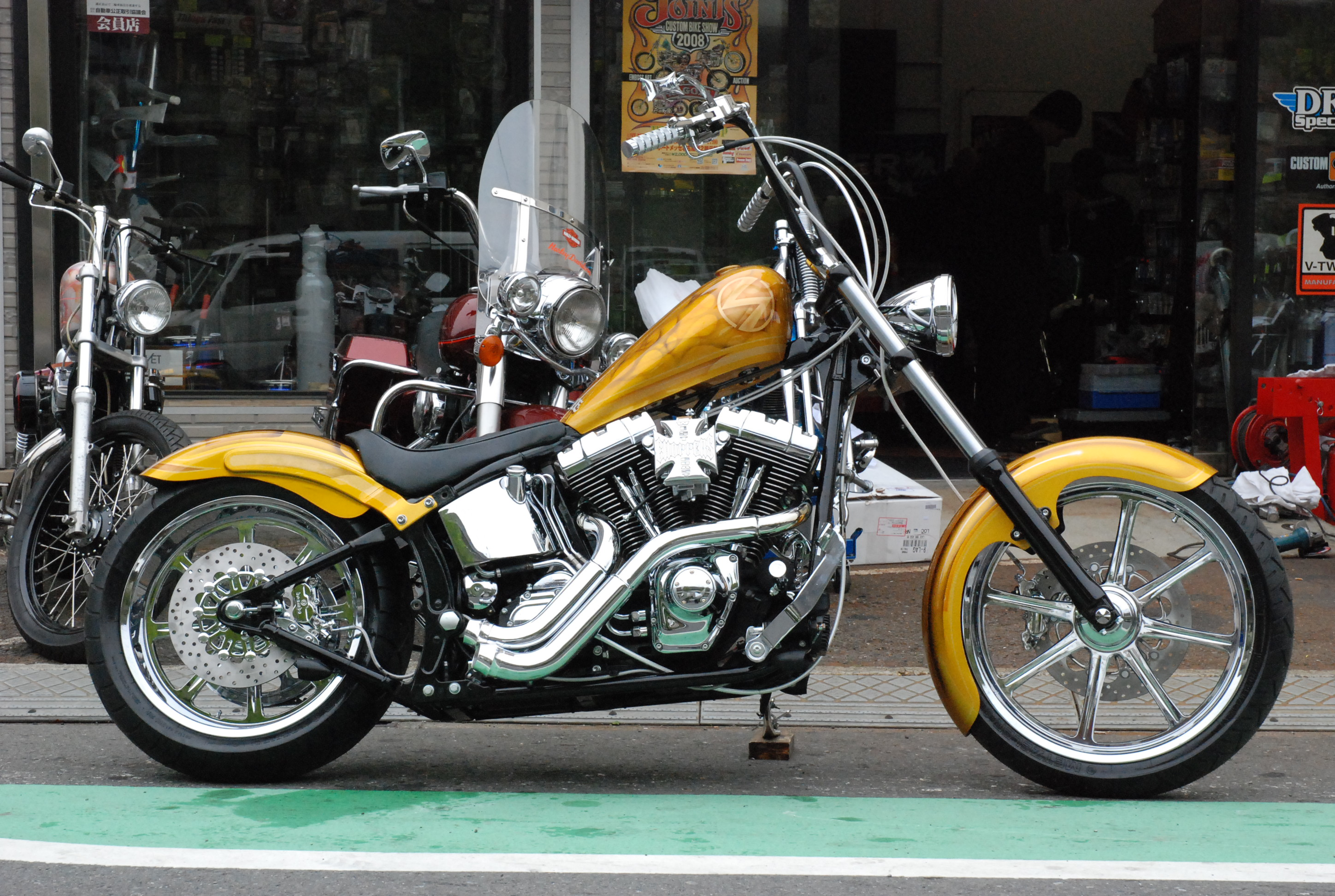 "2003 FXSTS""RAILE"""